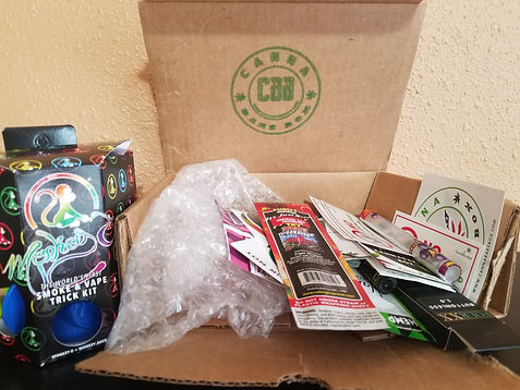 We review the packaging of the canna bake box