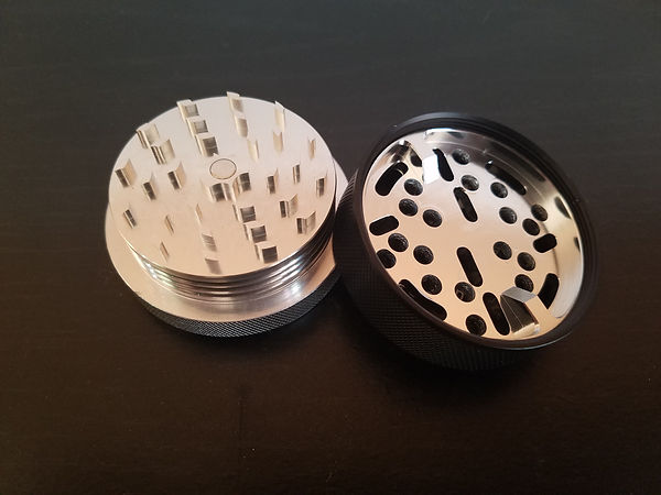 Sharpest teeth on a herb grinder