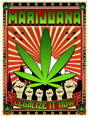 Weed posters and weed art. Time to add a touch of personality to your room!