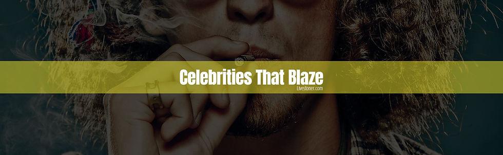 Celebrities that smoke weed.