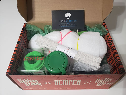 weed subscription box by hemper