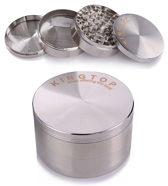 This made out top 5 herb grinders because of its size and ability to destroy any bud you put in the chamber.