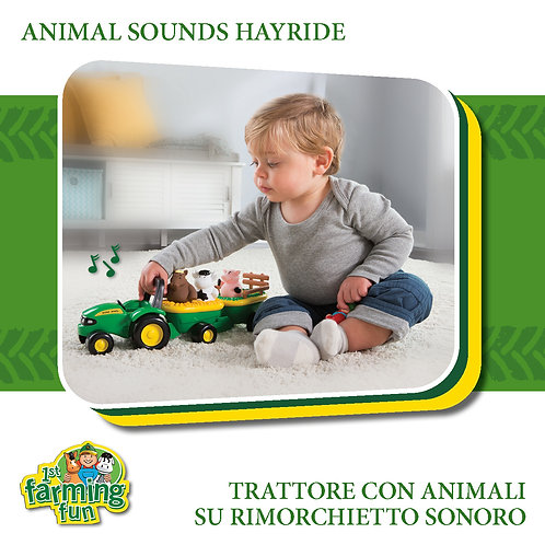ANIMAL SOUNDS HAYRIDE