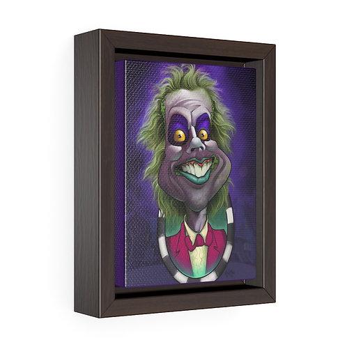 Bulman - Beetlejuice - Vertical Framed Premium Gallery Wrap Canvas