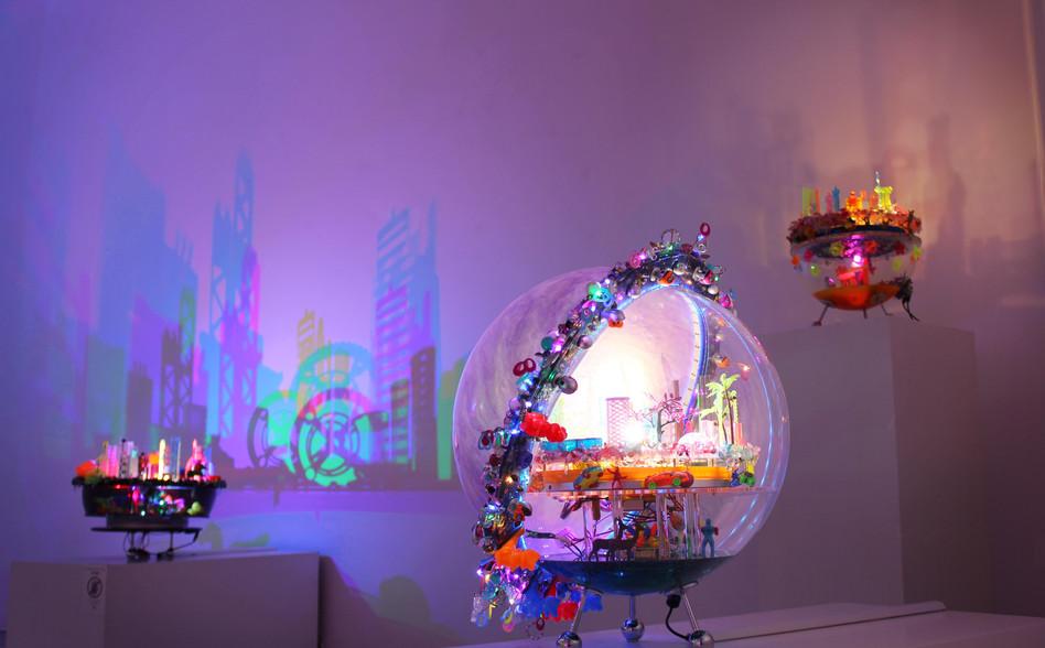 Installation shot at Contmeporary by Angela Li