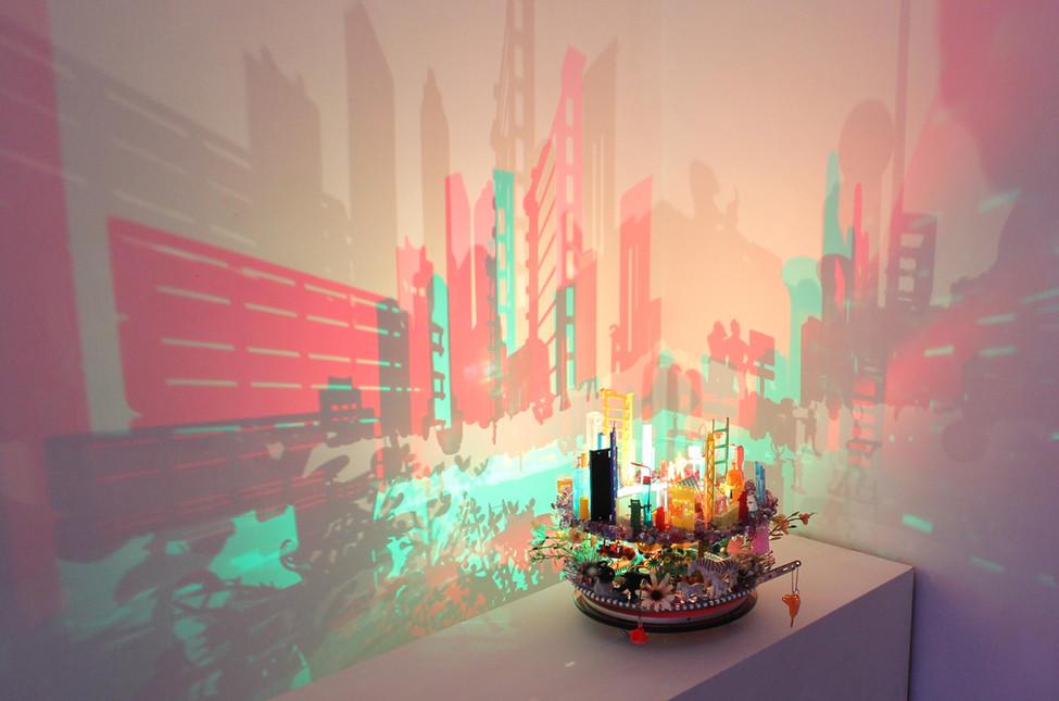 The Puzzle I, 2020, Angela Yuen, Plastic