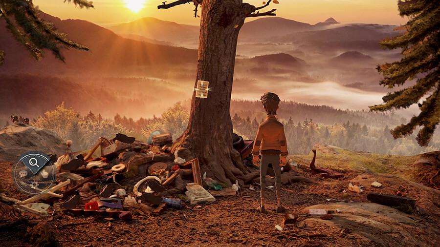 Trüberbrook video game screenshot / gameplay