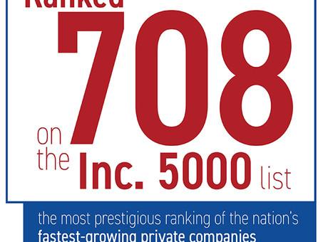 FRC Ranked #708 on Inc.5000 List, Boasts 692% Growth