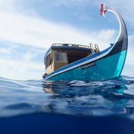 A Maldivian Dhoni