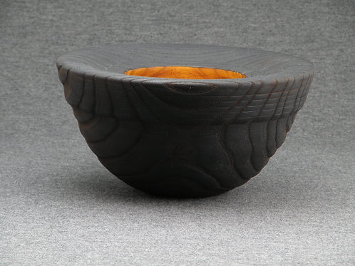 Charred Elm Pot
