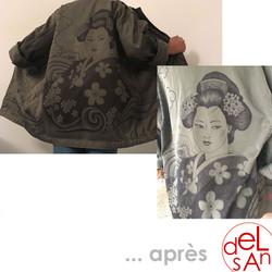 delsan - veste militaire geisha apres