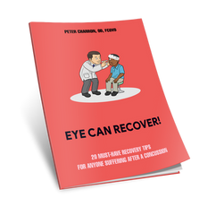 E Report by optometrist on vision rehabilitaton after concussion and head trauma
