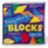 vision therapy and visual perception training blocks