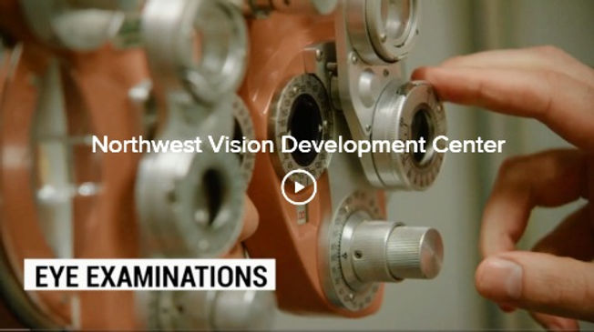 Promotional video of Optometry, vision therapy, eyeglasses and contact lens services at Northwest Vision Development Center in Bellingham WA