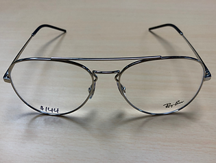 eyeglasses made from metal