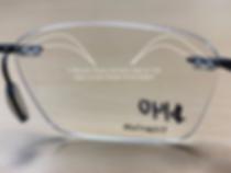 drill mounted eyeglasses frame