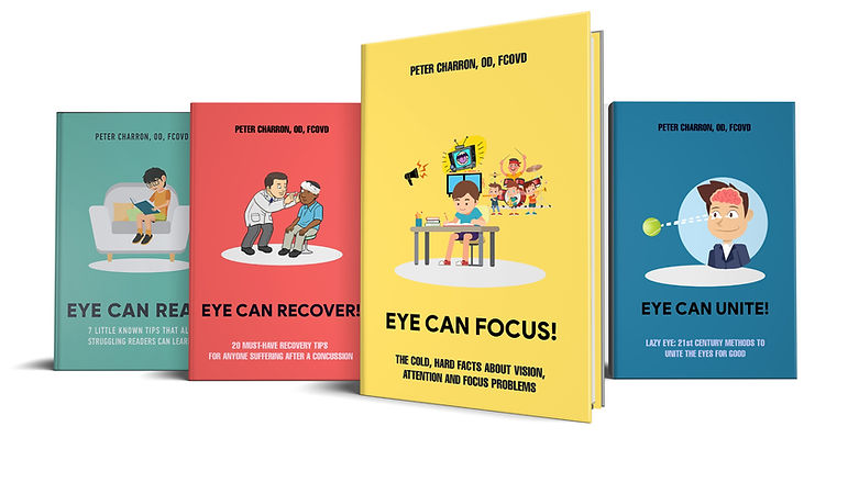 E Reports on visual problems written by Optometrist in Bellingham WA Dr. Peter Charron