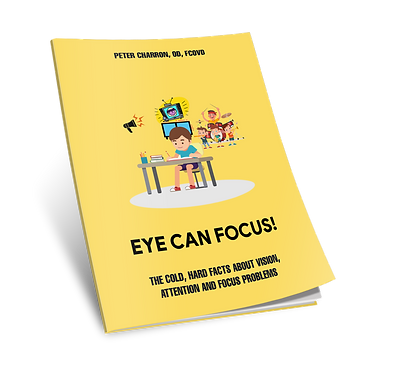 e report by optometrist on vision adhd symptoms