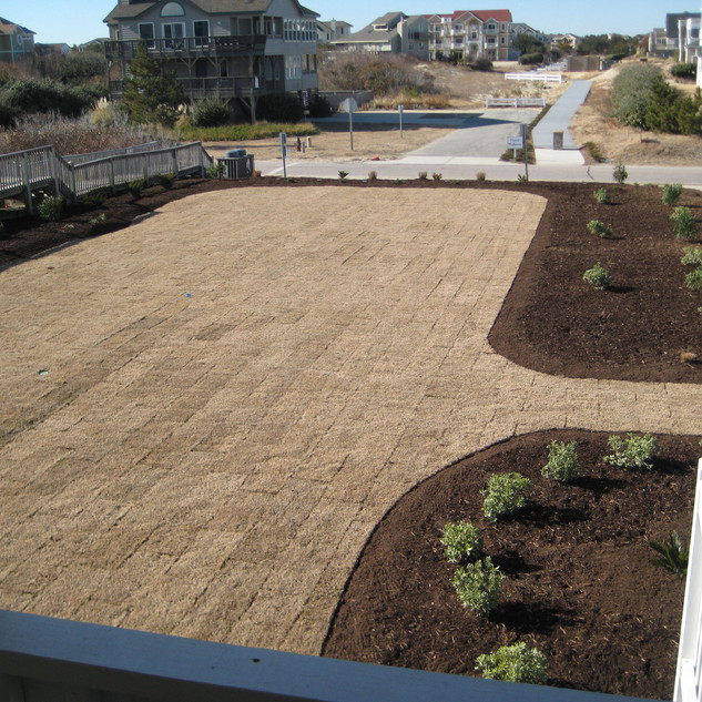 Winter Landscape Renovation Corolla, NC
