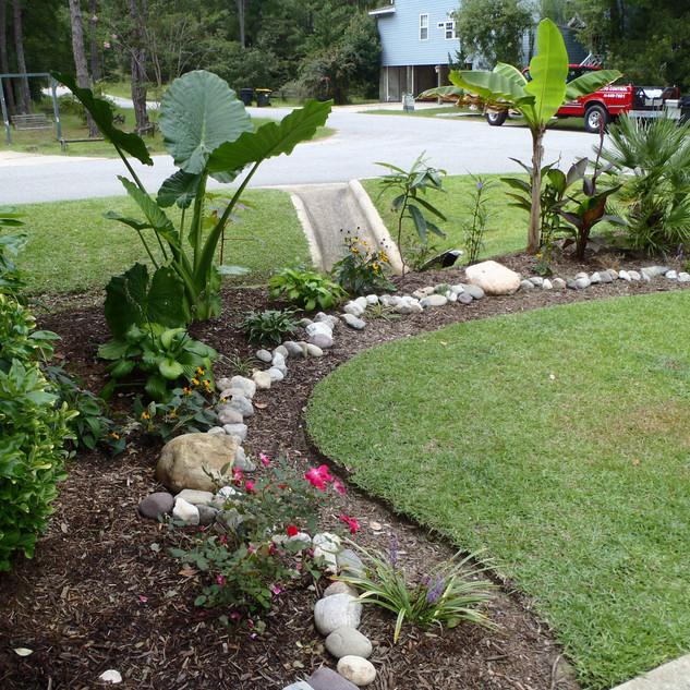 A little edging goes a long way!