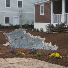 Dry Creek Bed for Water Management
