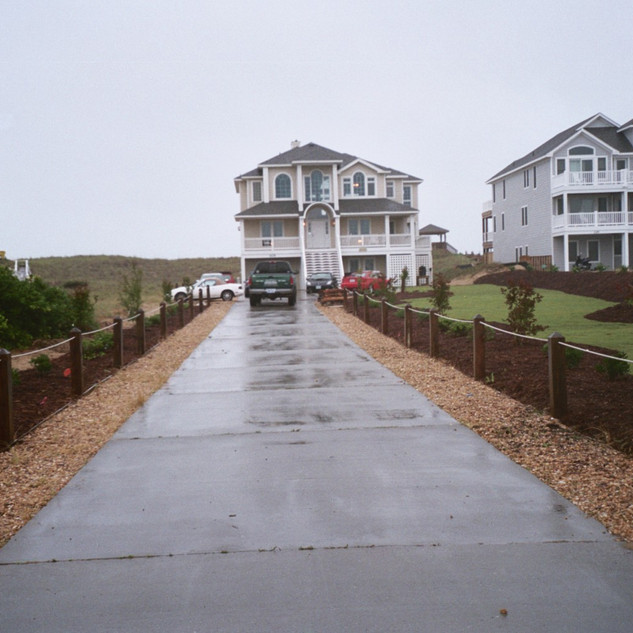 Landscape renovation in Kill Devil Hills, NC