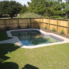Cedar Pool Fence Kill Devil Hills, NC