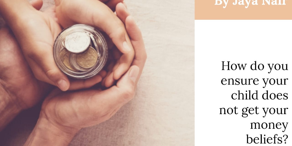 Facebook Live - Talking to Children about Money