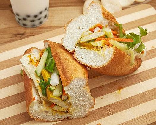 Banh Mi Vegetarian Sandwich