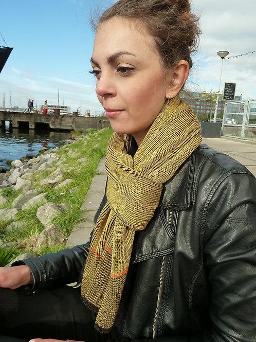 Basic sjaal oker