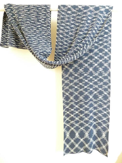 Ikat sjaal marine nr. 2