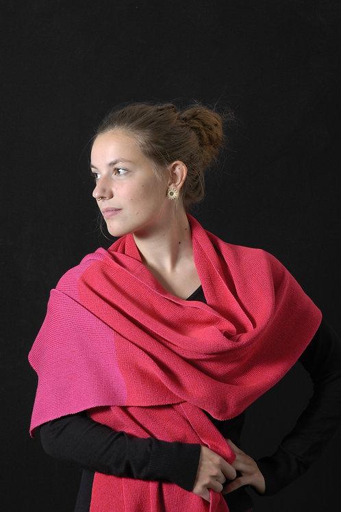 Basic sjaal rood