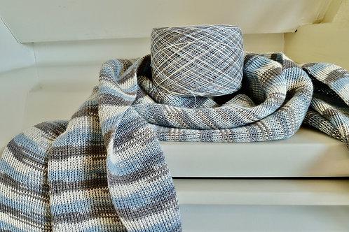 meerkleuren ikat sjaal #5