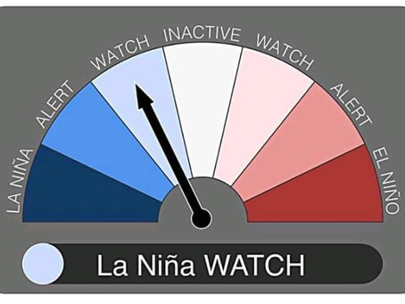 A La Niña watch has been issued! ¡Se ha emitido una vigilancia de La Niña!