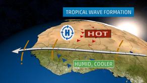 WHAT IS A TROPICAL WAVE? ¿QUÉ ES UNA ONDA TROPICAL?