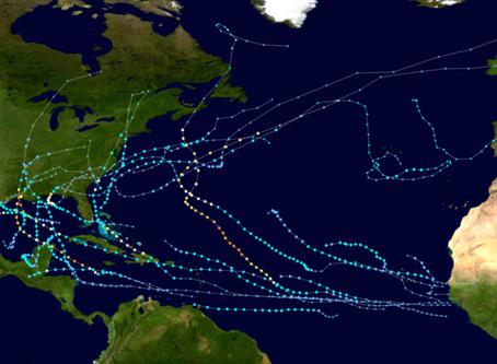 Last 2020 Atlantic Hurricane Season forecast / Último pronóstico de la temporada de huracanes