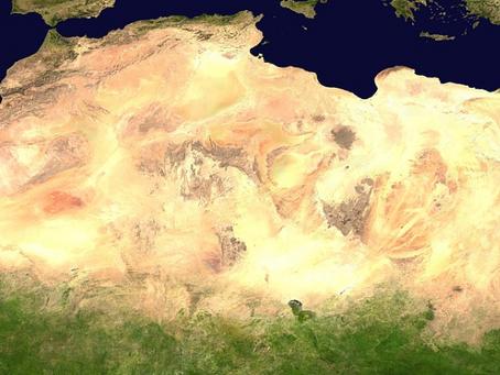 Where does the Saharan dust originate? ¿Dónde se origina el polvo sahariano?