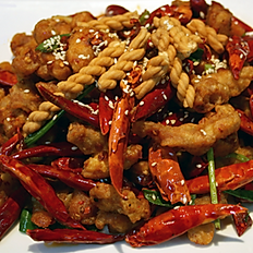 Chong Qing Spicy Diced Chicken (sesame)重庆辣子鸡
