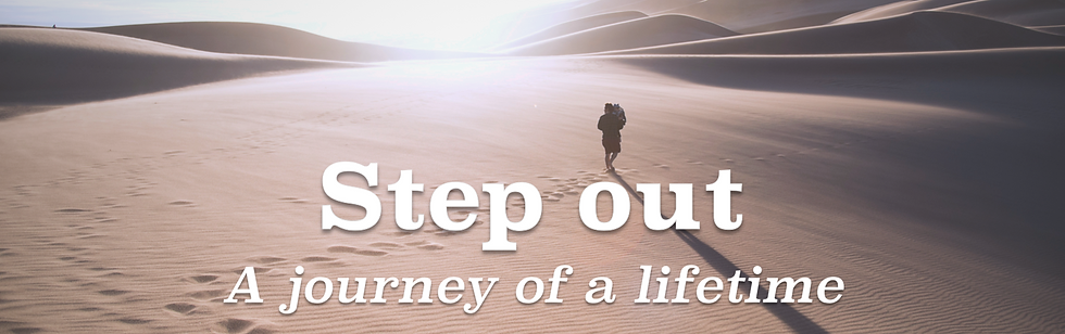 Step Out banner