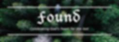 Found banner