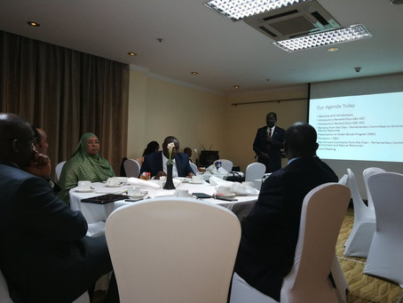 Engagement Meeting with Members of Parliament on Green Bonds