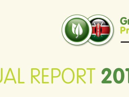 Green Bonds Programme Kenya – Annual report 2017/18