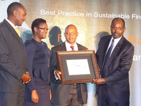 Banks and other Financial Sector Players awarded for enhancing Sustainable Initiatives in Finance