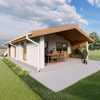 Timber Frame - Urban Shelter