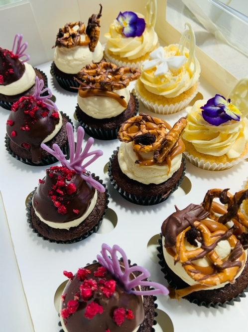 6 pk - Cupcake box