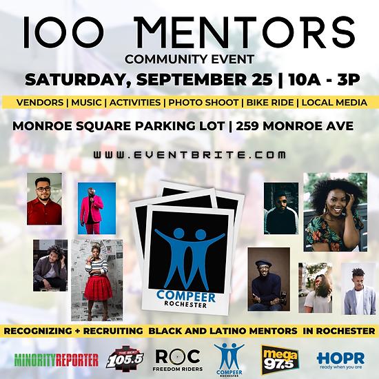100 Mentors Community Event.png