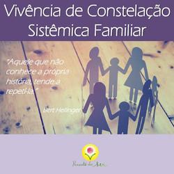 Vivência de Constelação Familiar