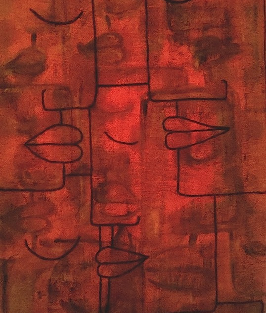 Visages peints