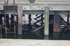 Dock Shadow Ripples