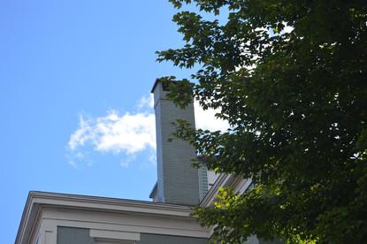 Blue Sky White Chimney